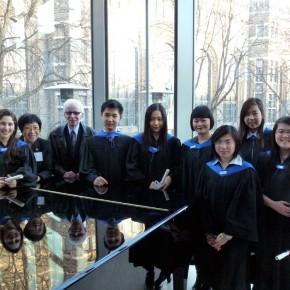 2013 Euromusic Graduates and Teachers: (left to right) Ani Chemelian (ARCT Performer), Grace Lin, Mr. James Lawless, Matthew Ye (ARCT Performer), Laura Li (ARCT Performer), Julia Zheng (ARCT Teacher), Hebe Chu (ARCT Performer), Didi Xiong (ARCT Performer), Ashley Qiang (ARCT Performer)