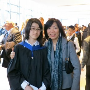 From Left: Catherine Li (ARCT Performer) and Ada Chen